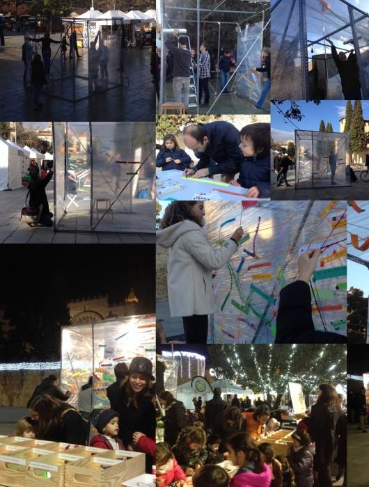 Intervención artística: Cartografia de desitjos