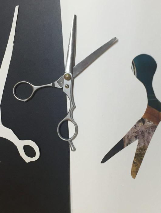 4# Y, ¿si no es la sombra de unas tijeras?
