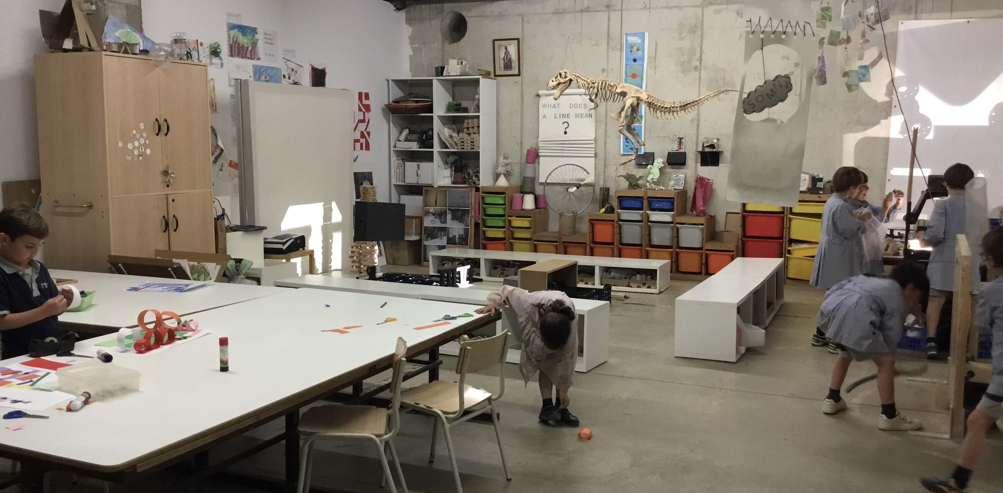 Atelier, Studio: Artencurs